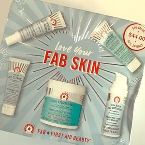 Brand new in box First Aid beauty kit.